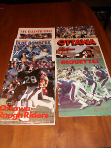 CFL CARDS -- CFL MAGAZINES & NFL CARDS Cornwall Ontario image 5