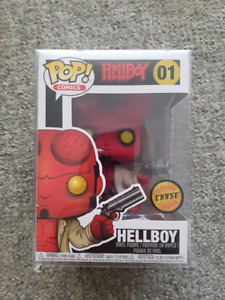 Funko PoP Chase Hellboy#01 Funko PoP PX Previews Ghost Rider#33