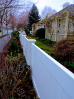 Vinyl Fence with Affordable Price