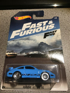Hot wheels Fast and Furious Porsche 911 GT3 RS