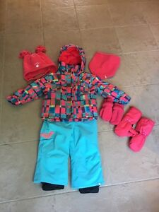 Costume d'hiver Roxy fille 2 ans