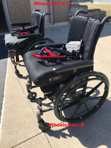3 Wheelchairs for sale
