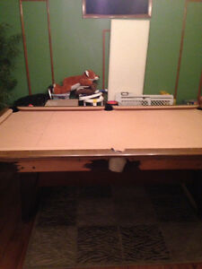 Trade pool table for bike