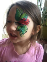 Earthbound Jewel: Professional Face Painting