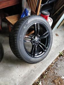 Winter Tires & Rims 235/55R18