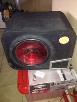 """12"""" MTX Sub in Ported box"""