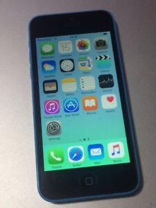 BLUE Apple iPhone 5C 16 GB - FIDO