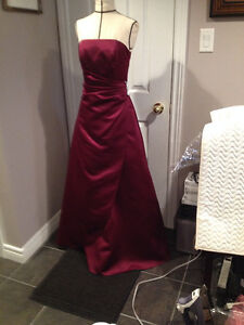 Burgundy Beauty Formal Gown