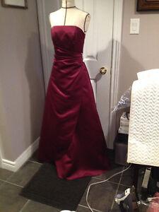 Burgundy Beauty Gown