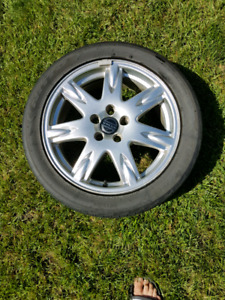 """17"""" Volvo Rims and Tires"""
