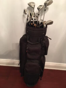 Golf Clubs, Bag, Caddy, Shoes, Gloves And Balls!