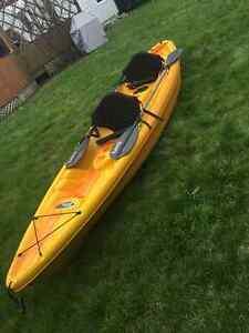 Kayak tandem pélican 130t en bonne condition