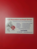 Renovation and Handyman Services