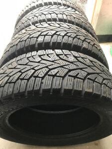 4 pneus d'hiver Gislaved Nordfrost 100 205/55r16