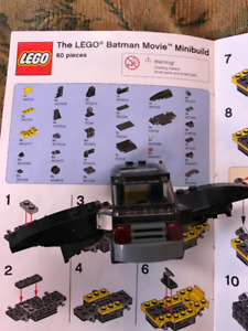LEGO - Misc Batman Movie Mobile and Bat Signal