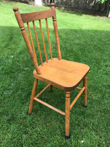 Chairs - Set of 8 Antique Farmhouse