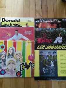 33 tours vinyles québécois lp records