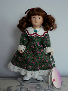 Porcelain Doll.Clean,SmokeFree, Excellent Cond.onStand Cambridge Kitchener Area image 1
