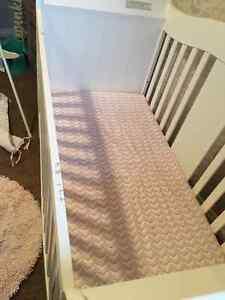 Vittoria Stages 3-In-1 Convertible Sleigh Crib Regina Regina Area image 8