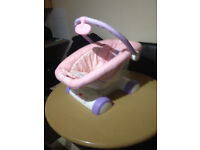 Battery operated baby chair
