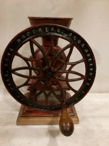 Antique SWIFT MILL LANE BROTHERS coffee grinder