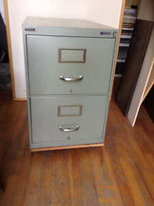 Solid Steel Office Filing Cabinet
