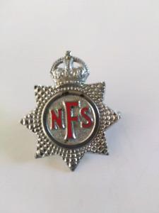 Vintage Fire Service Pin