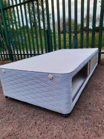 Single bed with storage (delivery available