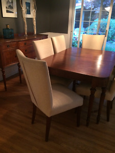 Classic Walnut Dining Set ...  Will consider offers!