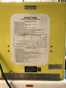 Gently used Juice Tree Juice Machine priced to sell!