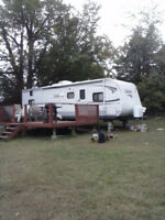30' Travel Trailer - NEEDED TO BE MOVED 23 SEPT 17