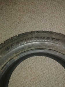 4 weathermate artic tires 195/60/R15