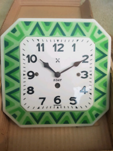 Vintage H.A.C. ceramic kitchen clock
