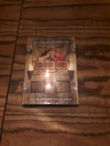 Jurassic Park adventure pack 3 movie box set dvd
