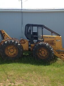 Skidder, Loader, and Tandem truck For Sale