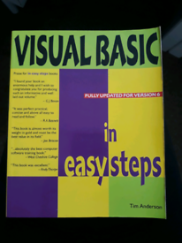 Computer visual basic book