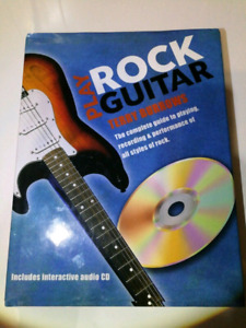 NEW Play Rock Guitar Book Terry Burrows Complete Guide CD Inc.
