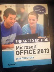 Microsoft 2013 & Finite Math 103