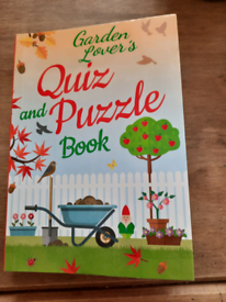 Garden lover's Quiz and puzzle book