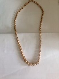 9ct gold chain very nice