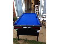 5' folding pool table