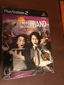 PS2 Nickelodeon, The Naked Brothers Band, The Video Game,