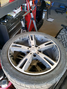 5x120 American Racing Wheels NEED GONE!