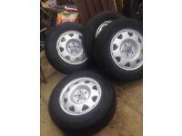 Honda CRV 4X4 steel wheels and tyres