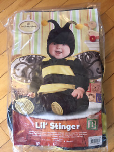 Toddler Bumble-bee Halloween Costume 12-18 mos