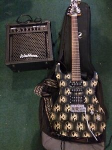 Guitar and amp for sale 100!!