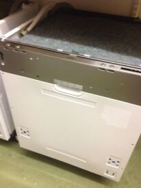 Graded built in 60cm dishwasher