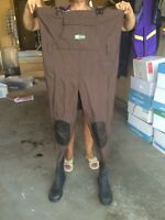 XPLORE boot foot chest waders $50