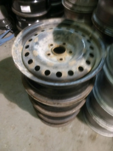 4x 16 inch steel rims mags 5x114.3