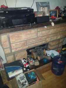 Fire place stereo